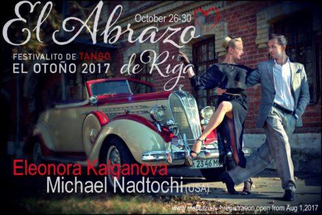 El Abrazo de Riga * El Otoño 2017 * Festivalito de Tango