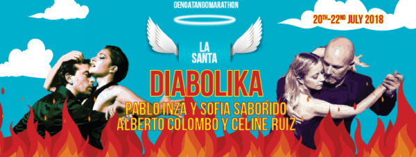 La SANTA DIABOLIKA Genoa Tango Marathon 2018