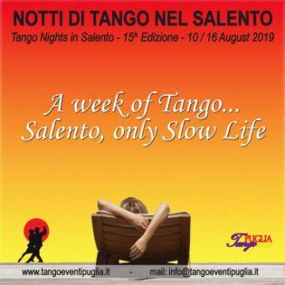TANGO NIGHTS IN SALENTO 2019