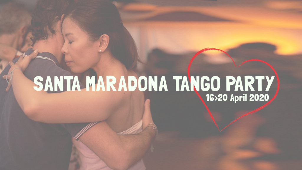 Santa Maradona Tango Party 2020